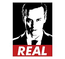 Moriarty was Real Photographic Print