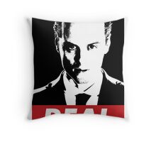 Moriarty was Real Throw Pillow