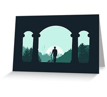 Time Traveler  Greeting Card