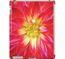 Red Dahalia iPad Case/Skin