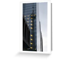 CN Tower Reflection Urban Photography  Greeting Card