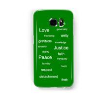 Justice - Green Samsung Galaxy Case/Skin