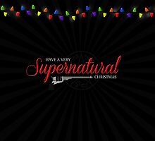 Supernatural Christmas Card by finnickodair