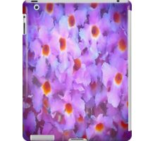 Purple Summer Flowers iPad Case/Skin