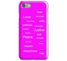 Justice - Fuchsia iPhone Case/Skin
