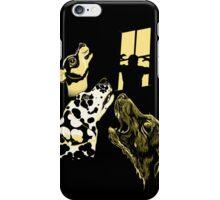 Three Dogs Window iPhone Case/Skin
