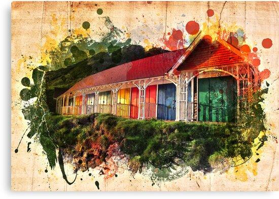 Beach Huts by gemlovesyou