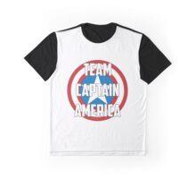 Team Captain America Graphic T-Shirt