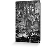 Spookiness in South Carolina Greeting Card