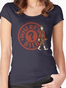 Where's Bilbo Women's Fitted Scoop T-Shirt
