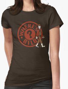 Where's Bilbo Womens Fitted T-Shirt