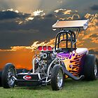 A/Altered Drag Car by DaveKoontz