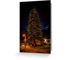 Albany Christmas Tree Greeting Card