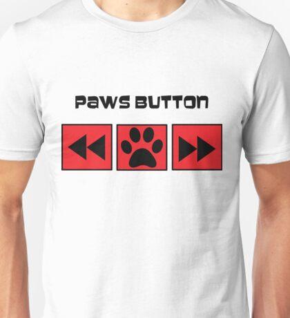 Paws Button Unisex T-Shirt