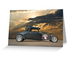 1930 Hudson Hot Rod Coupe ll Greeting Card