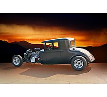 1930 Hudson Hot Rod Coupe lll Photographic Print