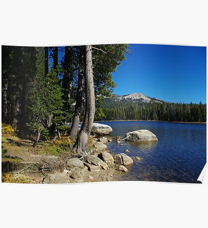 Beautiful Ice House Reservoir, California Poster