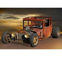 Rat Rod Royal T Photographic Print