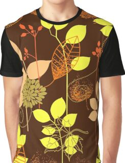 Foliage Copper & Bronze [iPhone / iPod Case and Print] Graphic T-Shirt