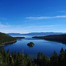 Emerald Bay, Lake Tahoe, California by Claudio Del Luongo