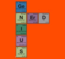 GENIUS NERD! Periodic Table Scrabble by dennis william gaylor