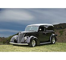 1937 Ford Delivery Sedan Photographic Print