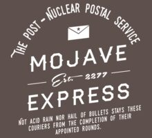 Mojave Express - The Post Nuclear Postal Service. by EdwardHobson