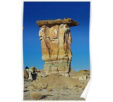 Rock tower, Utah Poster