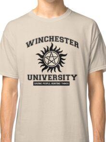 Supernatural - Winchester University Classic T-Shirt