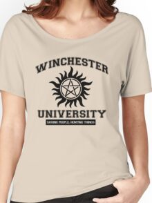 Supernatural - Winchester University Women's Relaxed Fit T-Shirt