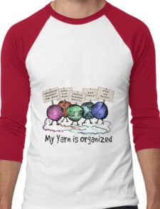 Yarn: Organized! Men's Baseball ¾ T-Shirt