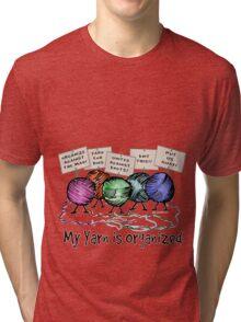 Yarn: Organized! Tri-blend T-Shirt
