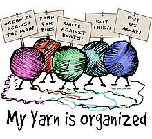 Yarn: Organized! Photographic Print