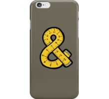 Ampersand Measuring Tape iPhone Case/Skin