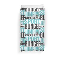 Bungee Jumping Extreme Sport Duvet Cover