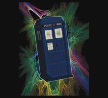TARDIS in the Vortex One Piece - Short Sleeve