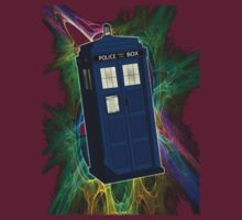 TARDIS in the Vortex by SOIL