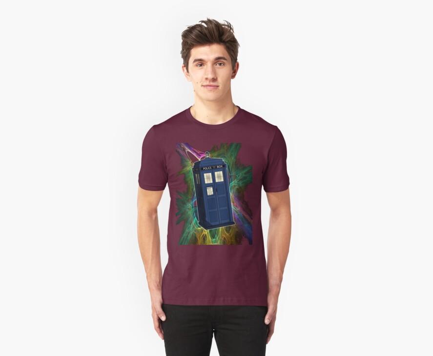 TARDIS in the Vortex by SOIL