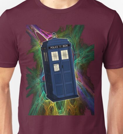 TARDIS in the Vortex Unisex T-Shirt