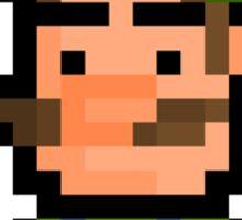 """Pixel Luigi Sticker - """"Super Mario Bros"""" Sticker"""