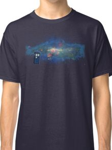 TARDIS & The Milkyway Classic T-Shirt