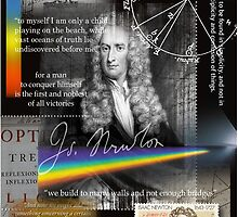 issac newton by arteology