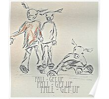 fall - get up Poster
