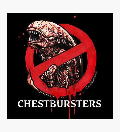 Chestbursters Photographic Print