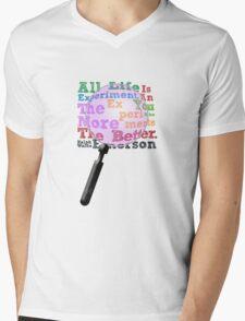 Ralph Waldo Had It Together Mens V-Neck T-Shirt