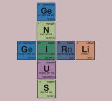GIRL GENIUS! Periodic Table Scrabble by dennis william gaylor