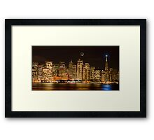 Spirit of San Francisco Framed Print