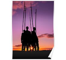 Pikemen 1798 Memorial, County Wexford, Ireland Poster