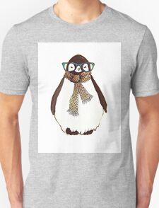 cute fluffy penguin Unisex T-Shirt