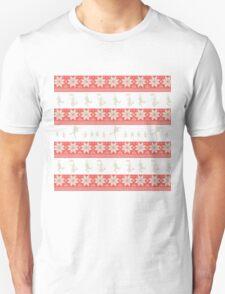 Mary Christmas Sweater Print Unisex T-Shirt